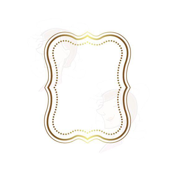 Gold block frames clipart clipart transparent Digital Frames GOLD Borders Wedding Clipart Frame Labels Tag Clip ... clipart transparent