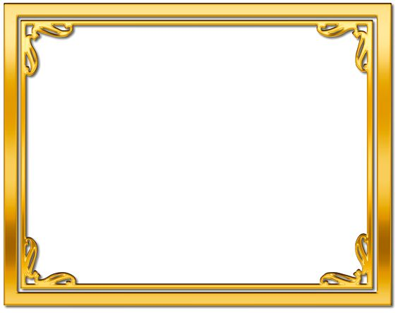 Gold block frames clipart image black and white Gold block frames clipart - ClipartFox image black and white