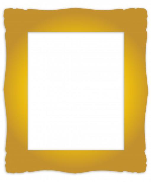 Gold block frames clipart picture transparent download Clipart images of gold frames - ClipartFest picture transparent download