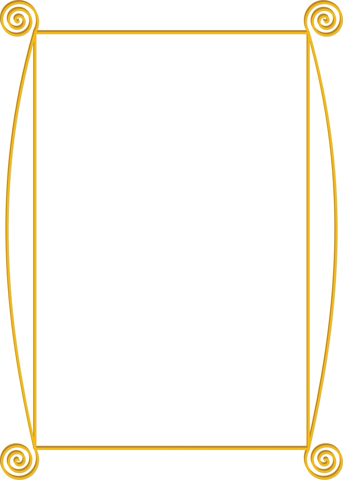 Gold border clipart png freeuse library Free Golden Border Cliparts, Download Free Clip Art, Free Clip Art ... png freeuse library