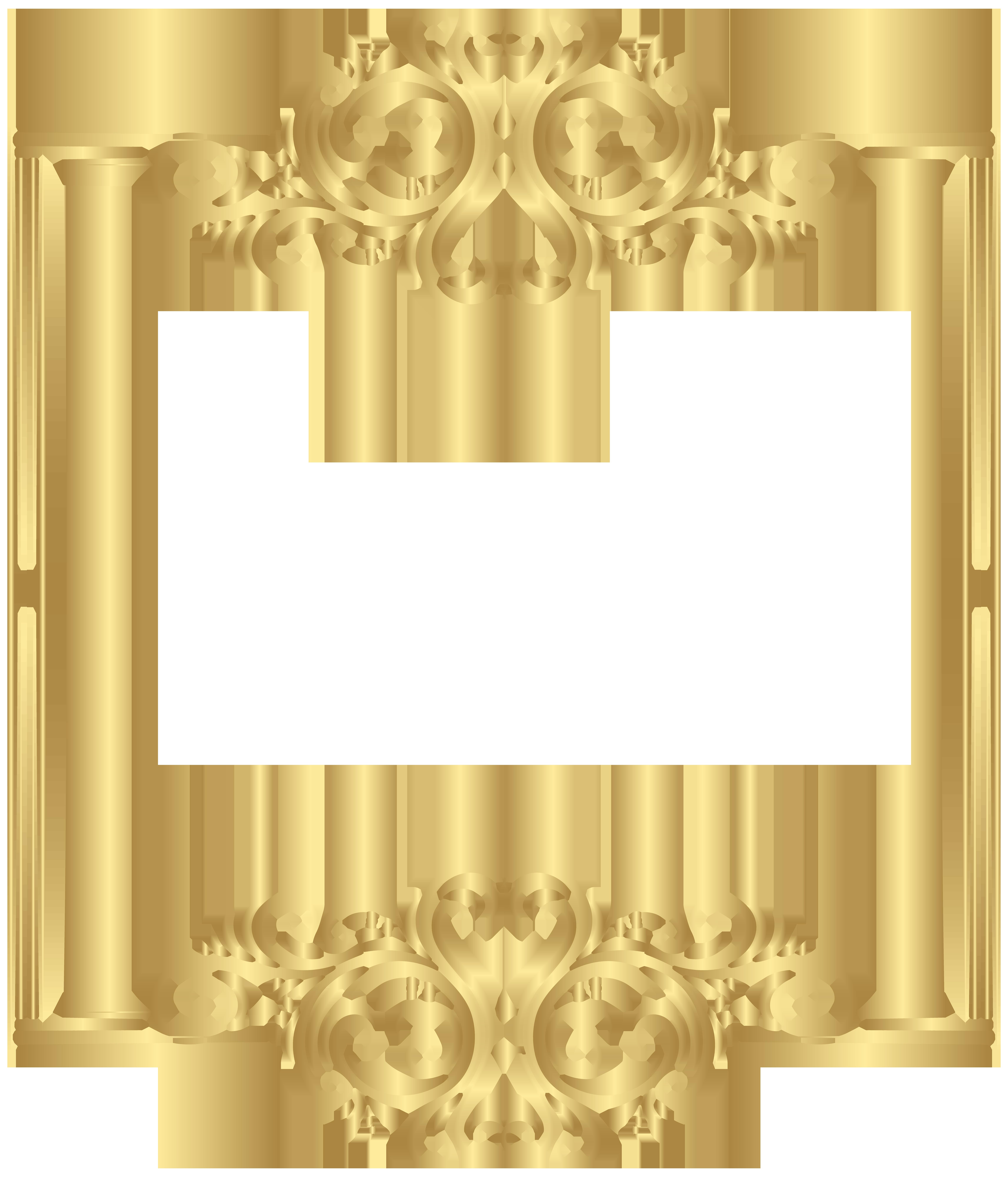 Gold border clipart jpg stock Free Golden Border Cliparts, Download Free Clip Art, Free Clip Art ... jpg stock