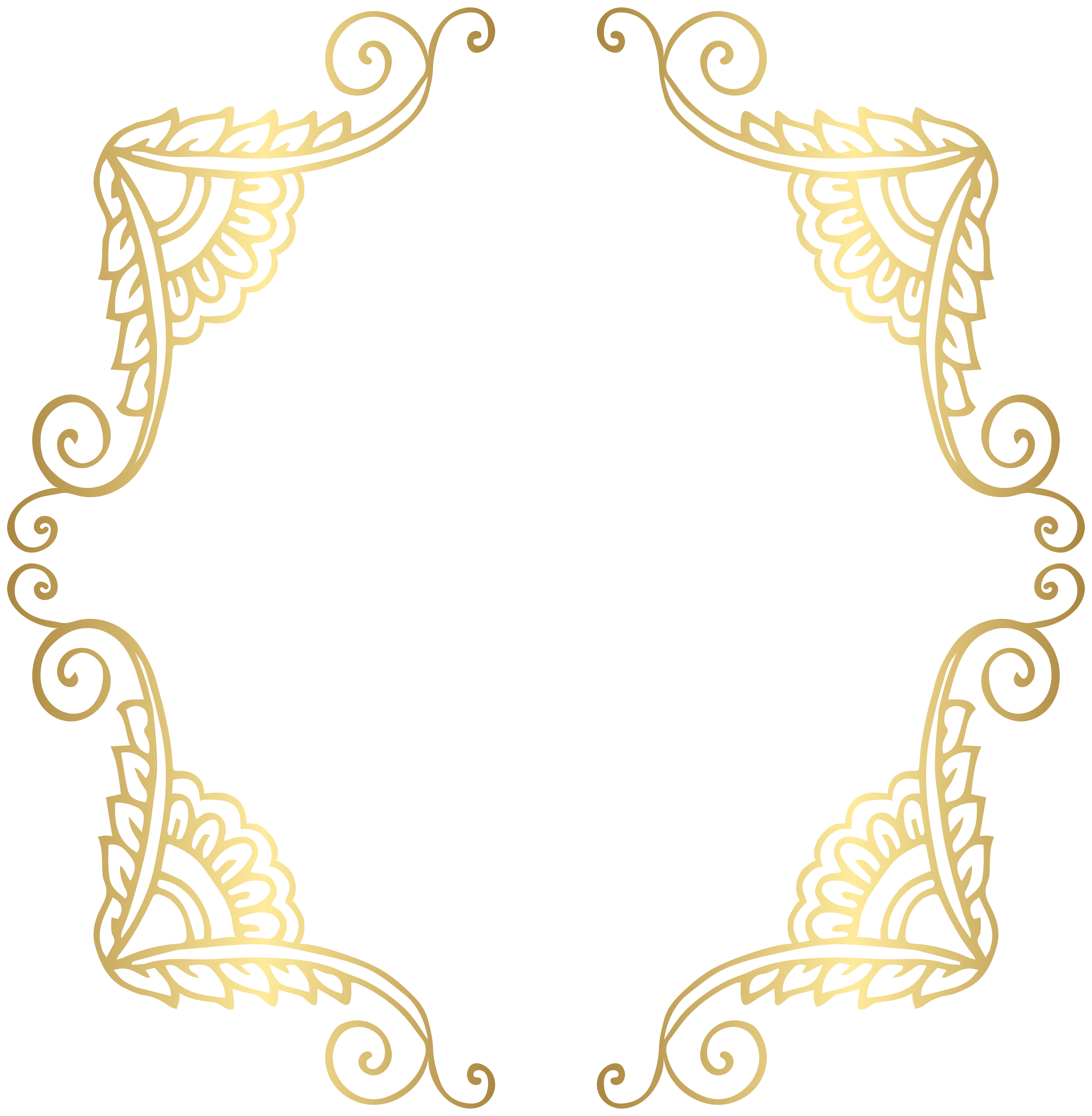 Gold borders clipart graphic freeuse download Free Golden Border Cliparts, Download Free Clip Art, Free Clip Art ... graphic freeuse download