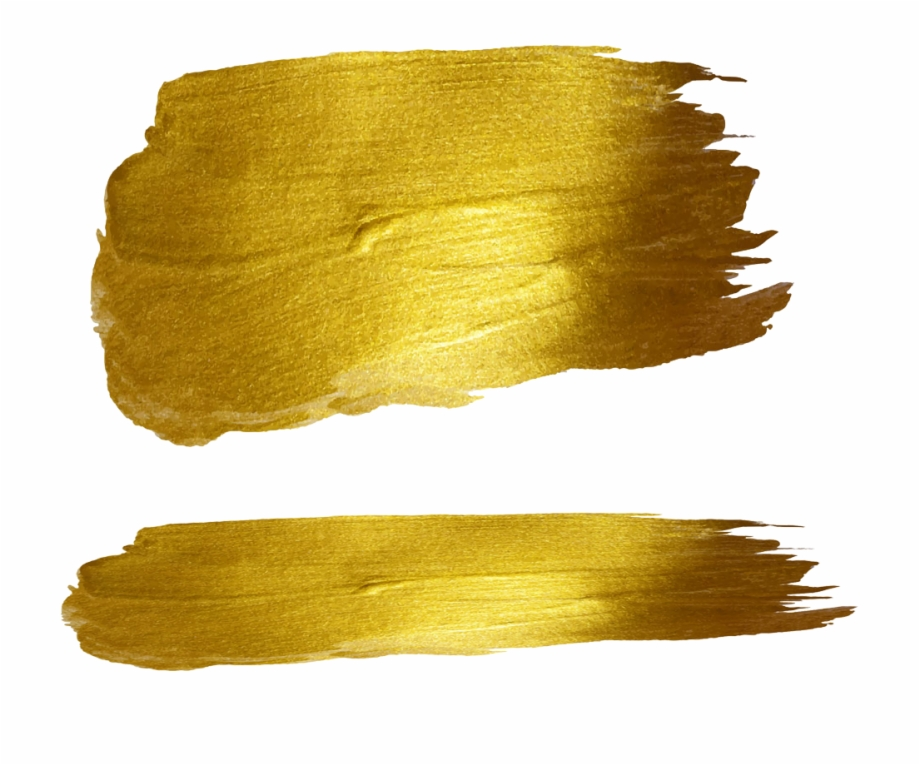 Gold brush stroke clipart free picture free Strokes Gold Brush Illustration Ink Free Photo Png - Gold Brush ... picture free