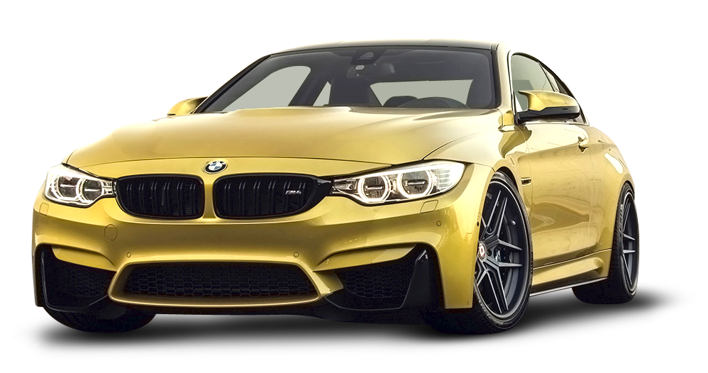 Gold car clipart vector royalty free download Gold BMW M4 Car PNG Image - PurePNG | Free transparent CC0 PNG Image ... vector royalty free download