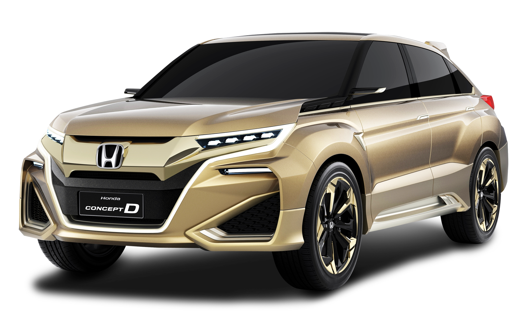Gold car clipart clip art freeuse stock Gold Honda Concept D Car PNG Image - PurePNG | Free transparent CC0 ... clip art freeuse stock