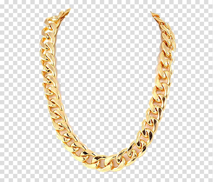 Gold chain clipart transparent graphic transparent library Chain Gold Necklace, Thug Life Gold Chain s, gold-colored cuban ... graphic transparent library