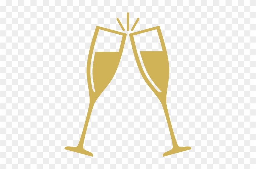 Gold champagne glass clipart clip art library download Lavo - Gold Champagne Glasses Clipart - Free Transparent PNG Clipart ... clip art library download
