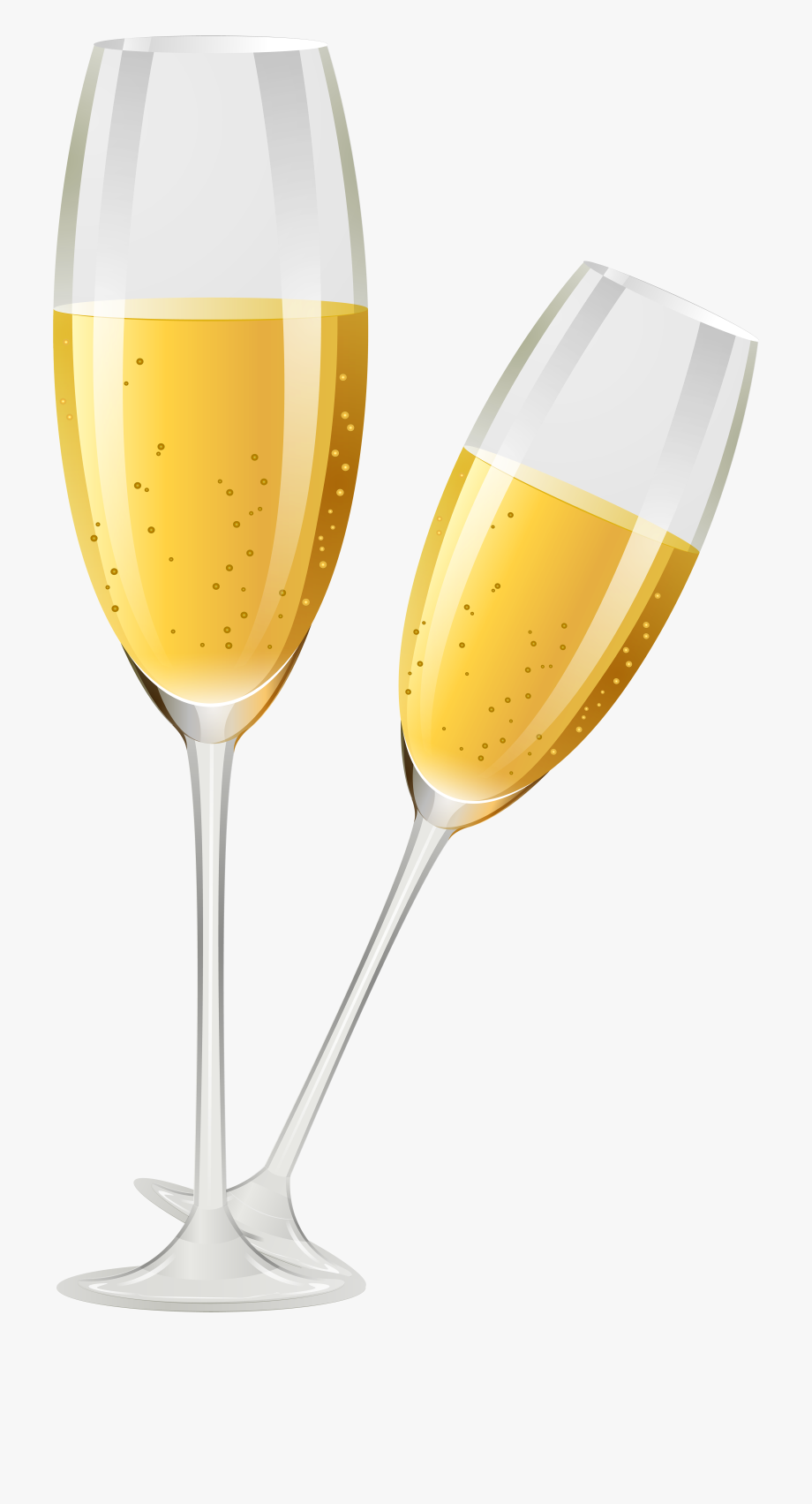 Champagne glass clipart png png black and white stock Banner Black And White Gold Champagne Glass Clipart - Champagne ... png black and white stock