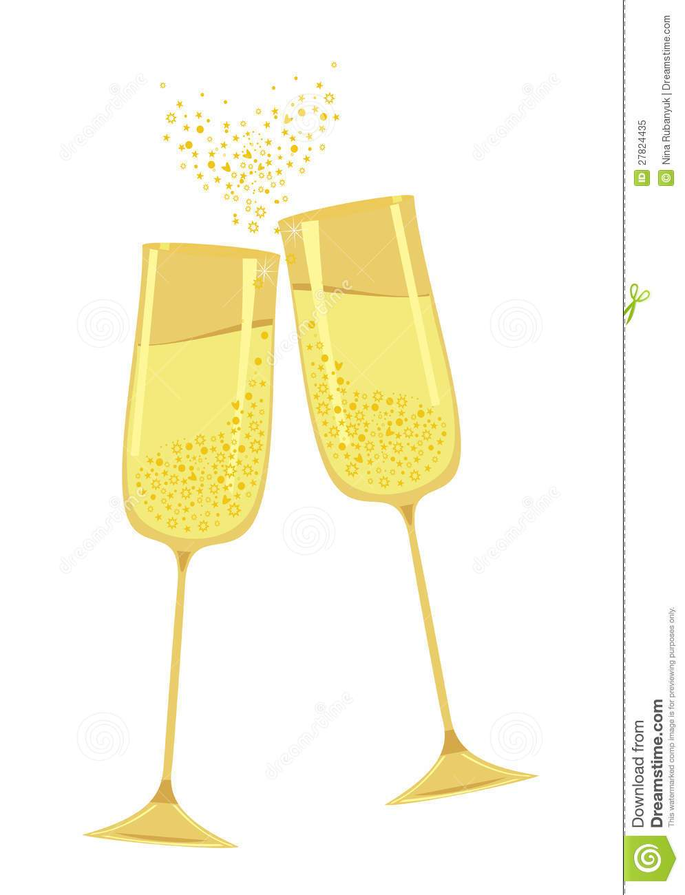 Gold champagne glass clipart png free stock Gold champagne glass clipart 1 » Clipart Portal png free stock