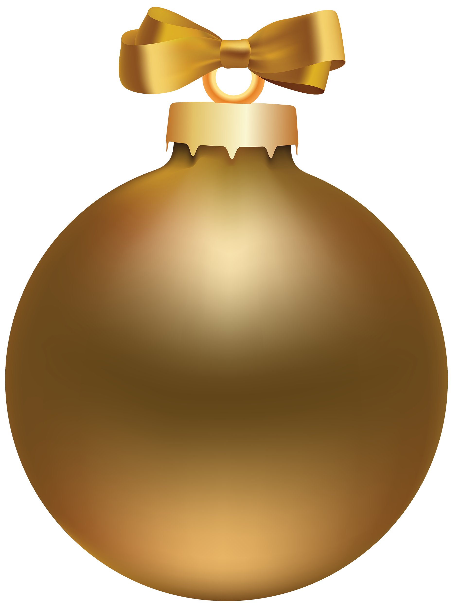 Gold christmas balls clipart image library library Golden Style Christmas Ball PNG Clipart - Best WEB Clipart image library library