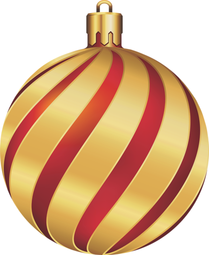 Gold christmas balls clipart svg free library CHRISTMAS GOLD AND RED SWIRL ORNAMENT CLIP ART | CLIP ART ... svg free library