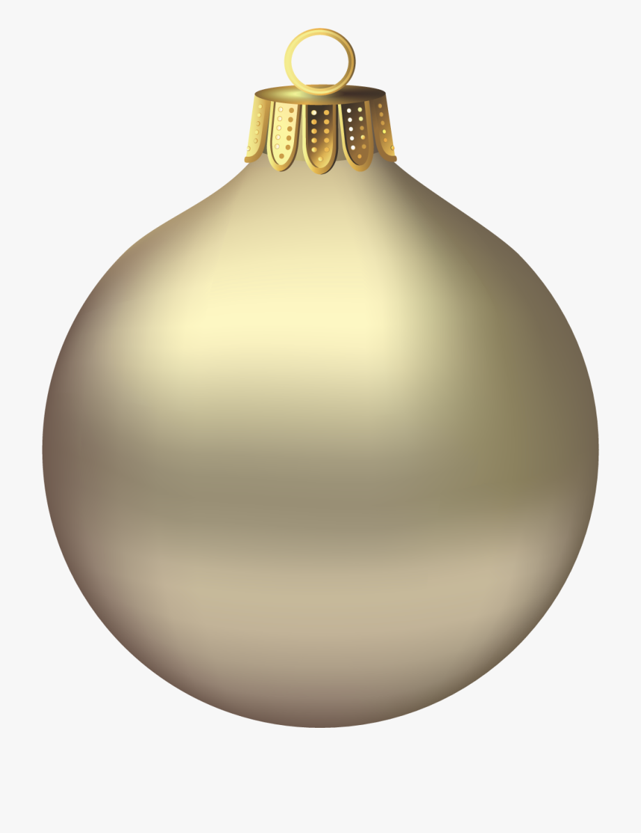 Gold christmas ornaments clipart clipart library download Transparent Christmas Gold Ornament Clipart - Transparent Christmas ... clipart library download