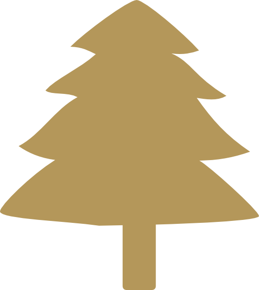 Gold christmas tree clipart image download Gold Tree Clip Art at Clker.com - vector clip art online, royalty ... image download