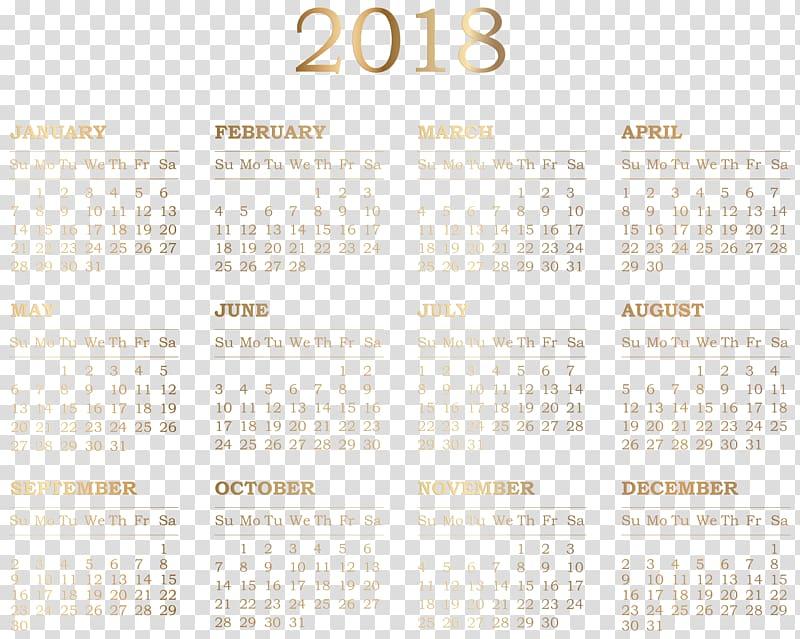Gold clip art heart april 21 2018 clipart jpg stock 2018 calendar illustration, Calendar Pattern, 2018 Calendar ... jpg stock
