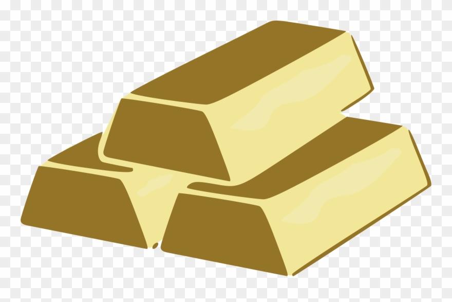 Gold clipart clip transparent download Metal Clipart Gold Brick - Clip Art Gold Bricks - Png Download ... clip transparent download