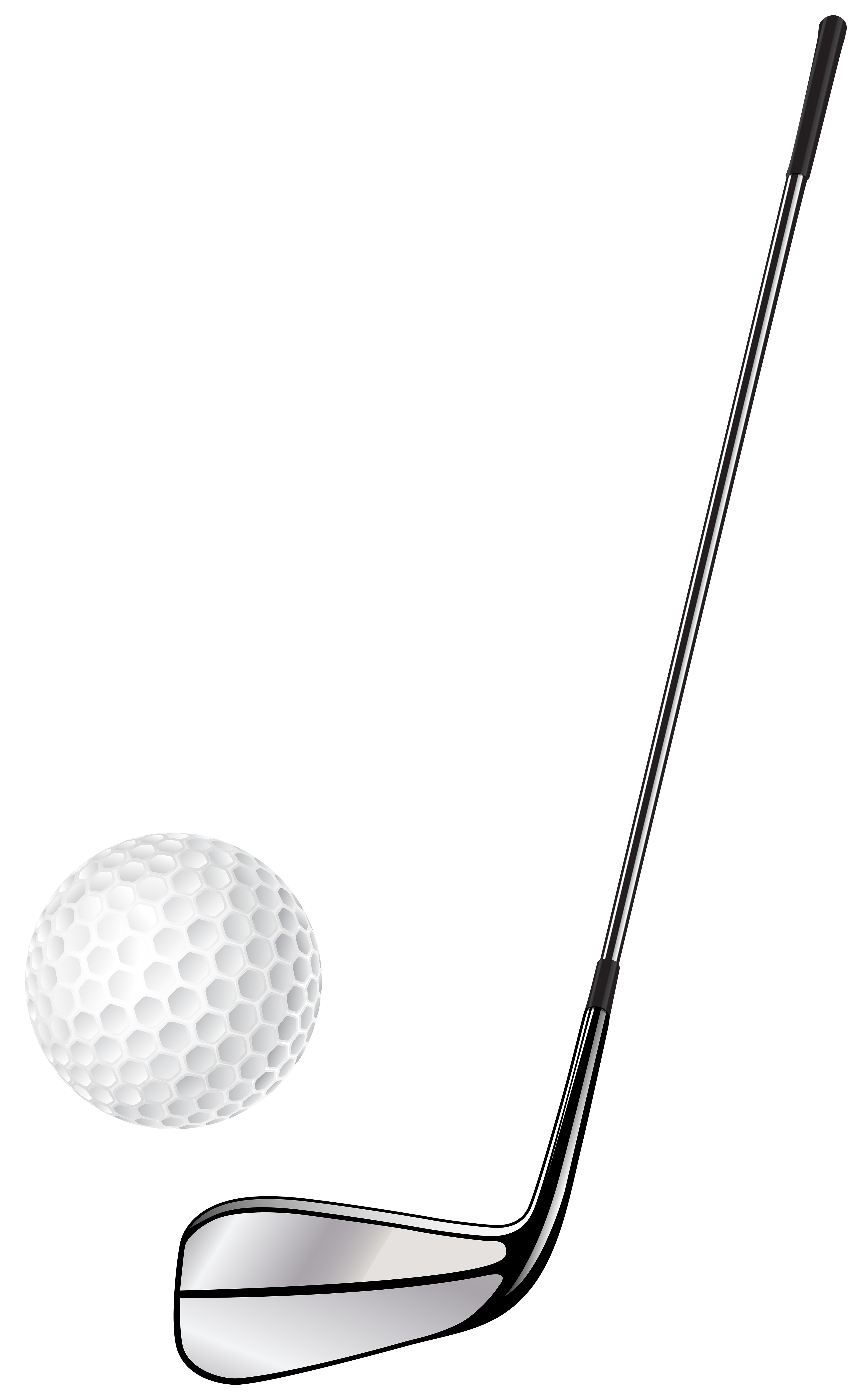 Gold club clipart banner royalty free download Golf Club Stick and Ball PNG Clip Art - Best WEB Clipart banner royalty free download
