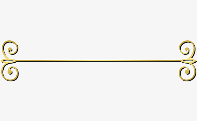 Gold decorative lines clipart banner royalty free library Gold Lines, Golden, Line, Decorative Pattern PNG Transparent Image ... banner royalty free library