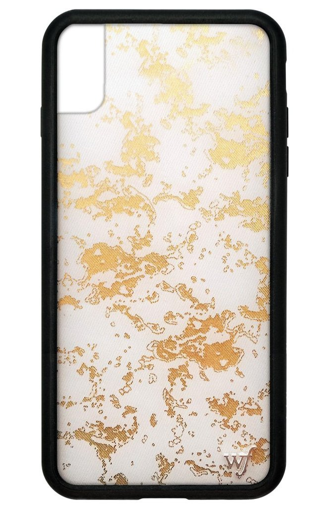 Gold dust buyers in clipart stock Gold Dust iPhone Xs Max Case stock