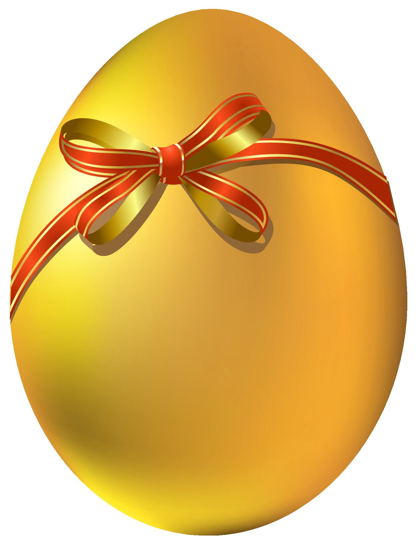 Golden easter egg clipart png - ClipartFest banner free stock