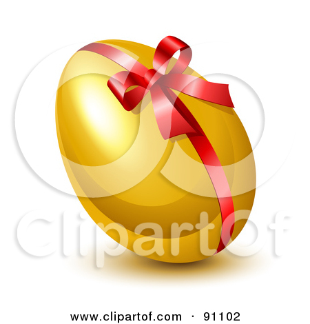 Royalty-Free (RF) Gold Easter Egg Clipart, Illustrations, Vector ... clip royalty free download