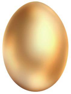 Golden easter egg clipart png - ClipartFest clip