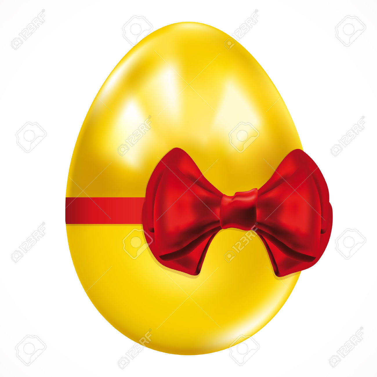 Golden easter egg clipart png - ClipartFest royalty free stock