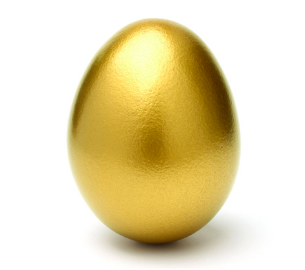 Gold easter egg clipart svg library Golden egg clipart - ClipartFox svg library