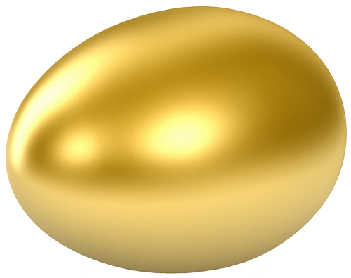 Gold easter egg clipart svg royalty free library Golden egg clipart - ClipartFest svg royalty free library