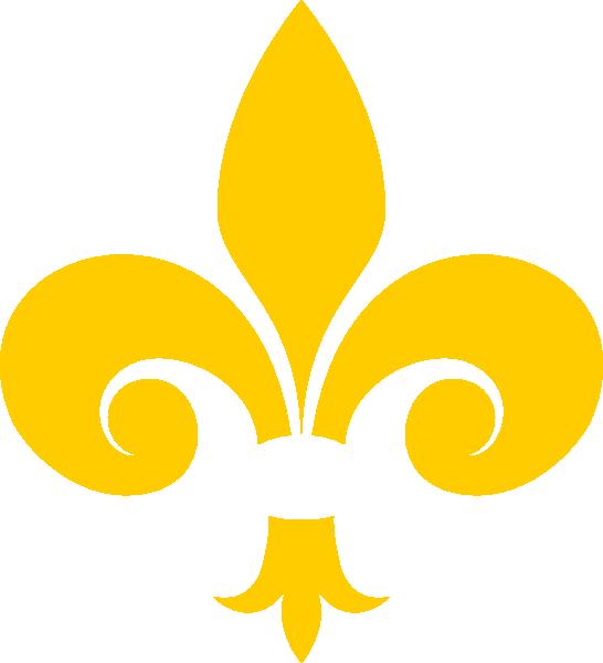 Gold fleur de lis clipart svg download Gold Fleur De Lis Clip Art at Clker.com - vector clip art online ... svg download
