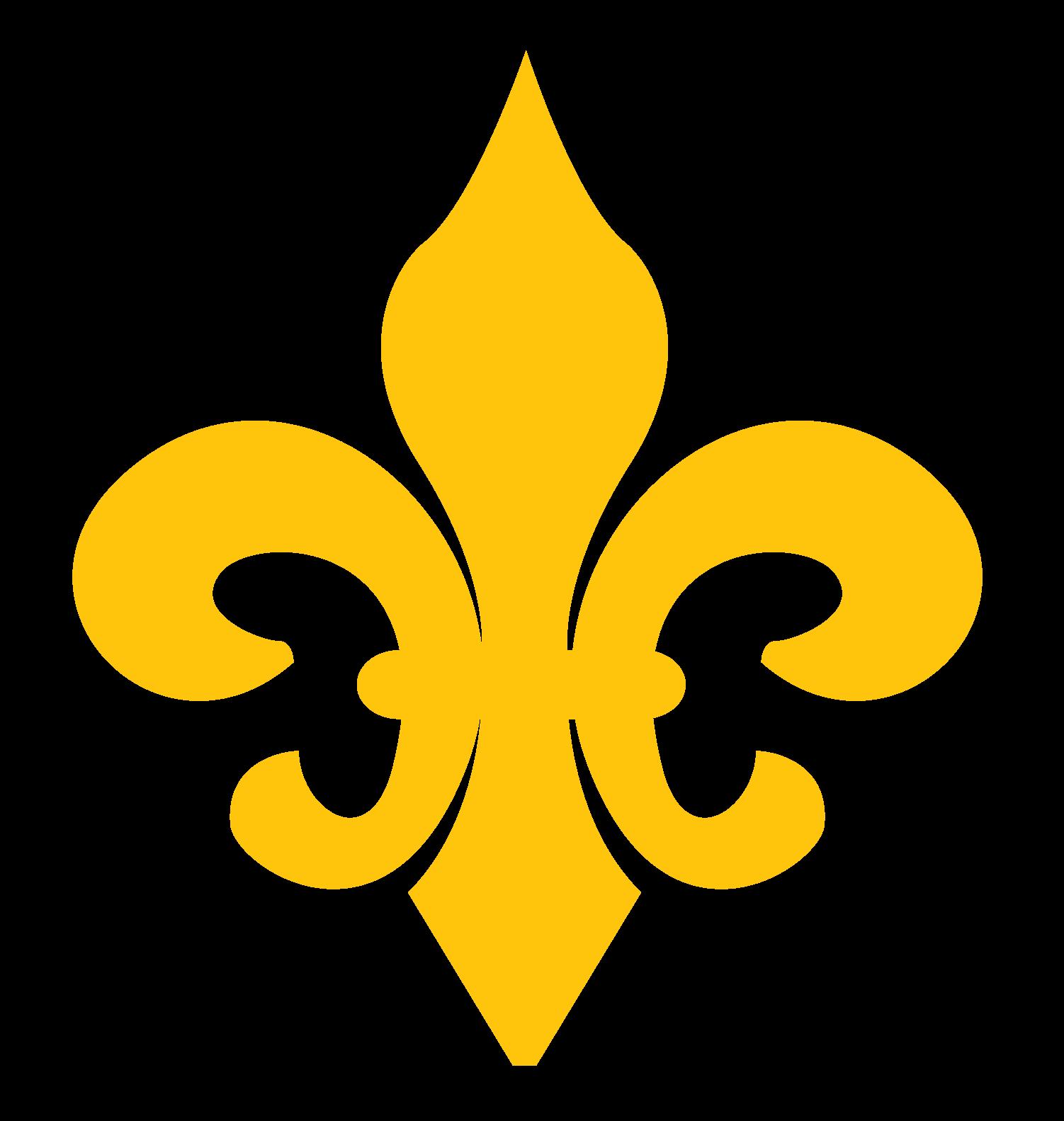 Gold fleur de lis clipart picture library Beautiful Fleur de Lis Clip Art - New Orleans Free Vector Clip Art picture library