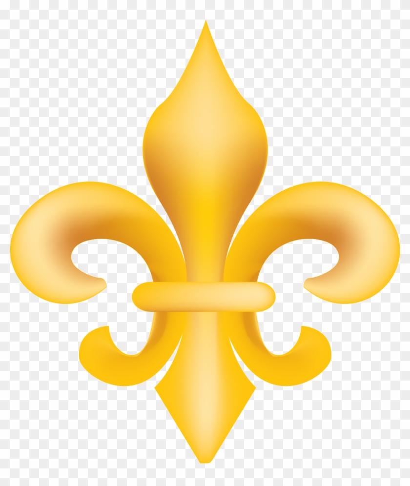Gold fleur de lis clipart clip transparent library Gold Fleur De Lis Vector Clip Art - Gold Fleur De Lis Transparent ... clip transparent library