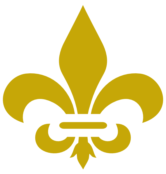 Gold fleur de lis clipart graphic free stock Gold Fleur De Lis Clipart Hi - Clipart1001 - Free Cliparts graphic free stock