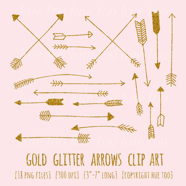 Gold arrow clipart - ClipartFest image freeuse