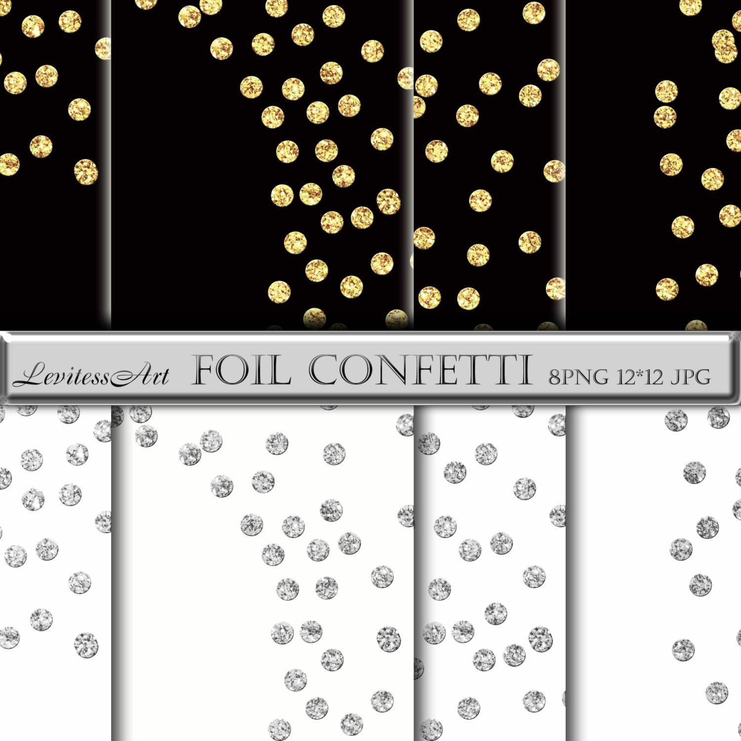 Gold foil confetti clipart banner royalty free download Gold confetti overlay Gold confetti clipart Glitter confetti borders ... banner royalty free download
