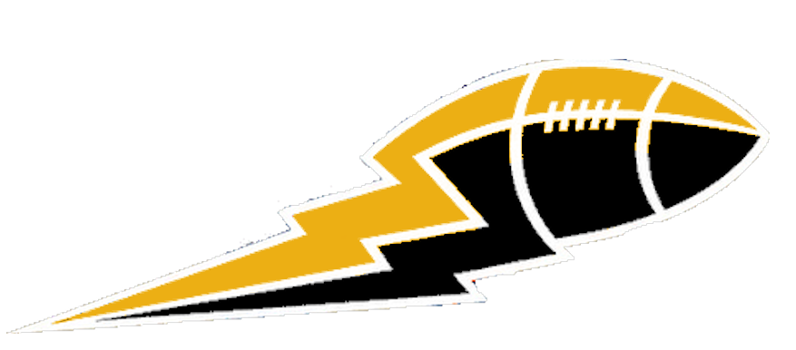 Gold football clipart picture download Gold Black Football Lightning Big | Free Images at Clker.com ... picture download