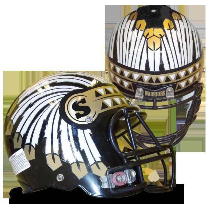 Retro football helmet clipart vector vector Football Helmet Decals Online | Pro-Tuff Decals vector