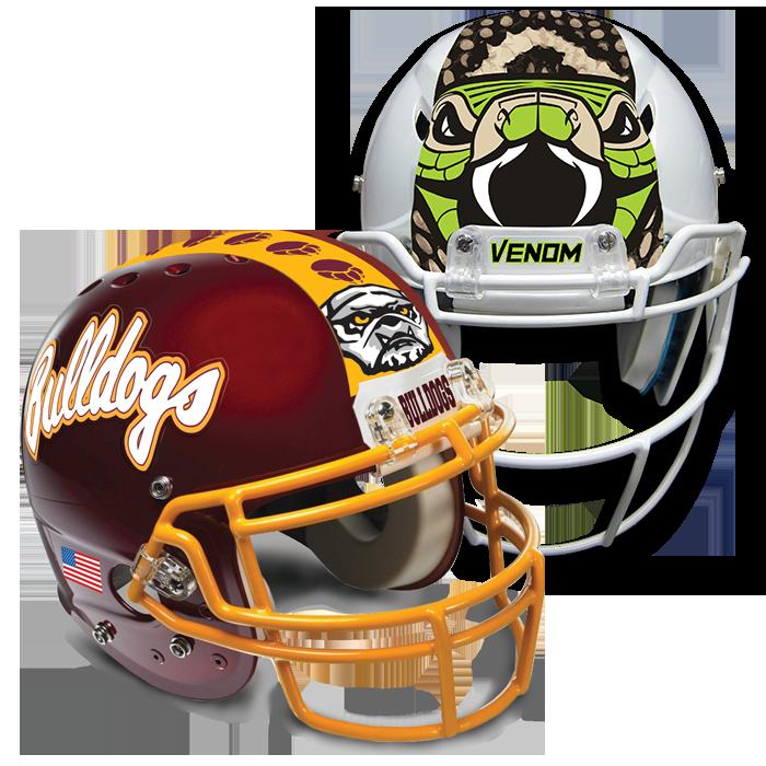Iu football helmet clipart image black and white Football Helmet Decals Online | Pro-Tuff Decals image black and white