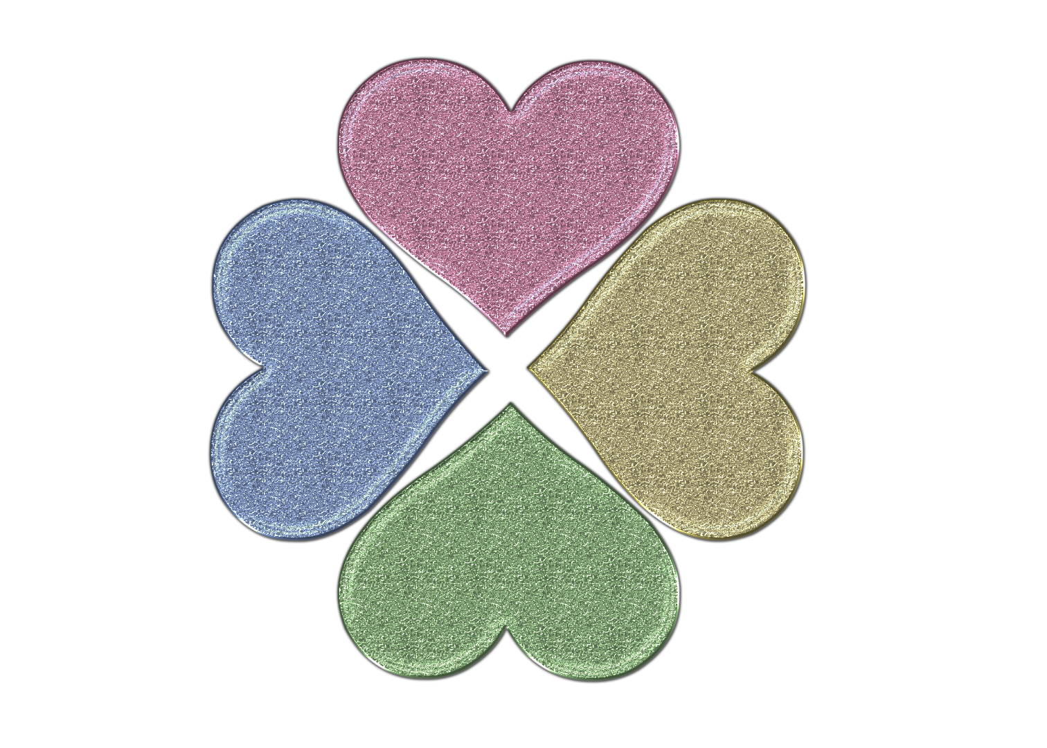 Heart clover clipart picture library download Heart Clover Glitter PNG by Princessdawn755 on DeviantArt picture library download