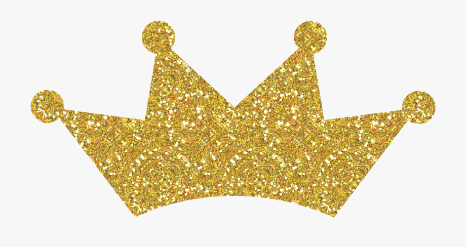 Gold glitter princess crown clipart clipart black and white library Gold Glitter Crown Png #174952 - Free Cliparts on ClipartWiki clipart black and white library