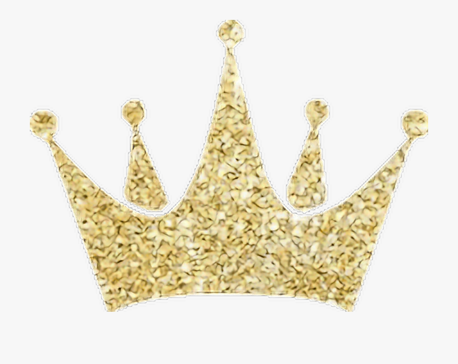 Gold glitter princess crown clipart jpg free library Gold Crown Glitter Freetoedit - Gold Glitter Crown Png #225771 ... jpg free library