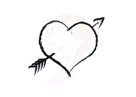 Heart arrow clipart - ClipartFest graphic transparent library