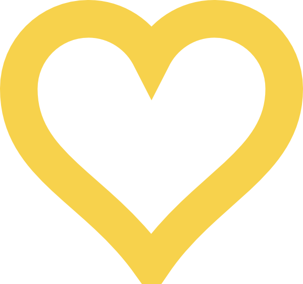Gold heart outline clipart image download Thick Light Gold Heart Clip Art at Clker.com - vector clip art ... image download