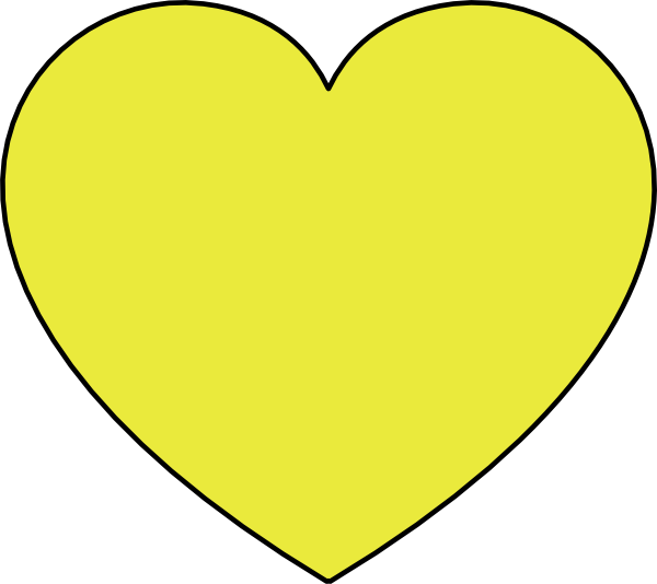 Gold heart outline clipart royalty free Goldheart Clip Art at Clker.com - vector clip art online, royalty ... royalty free