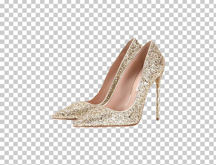 Gold heels clipart image stock High-heeled Footwear Court Shoe Gold Jewellery PNG, Clipart, Beige ... image stock