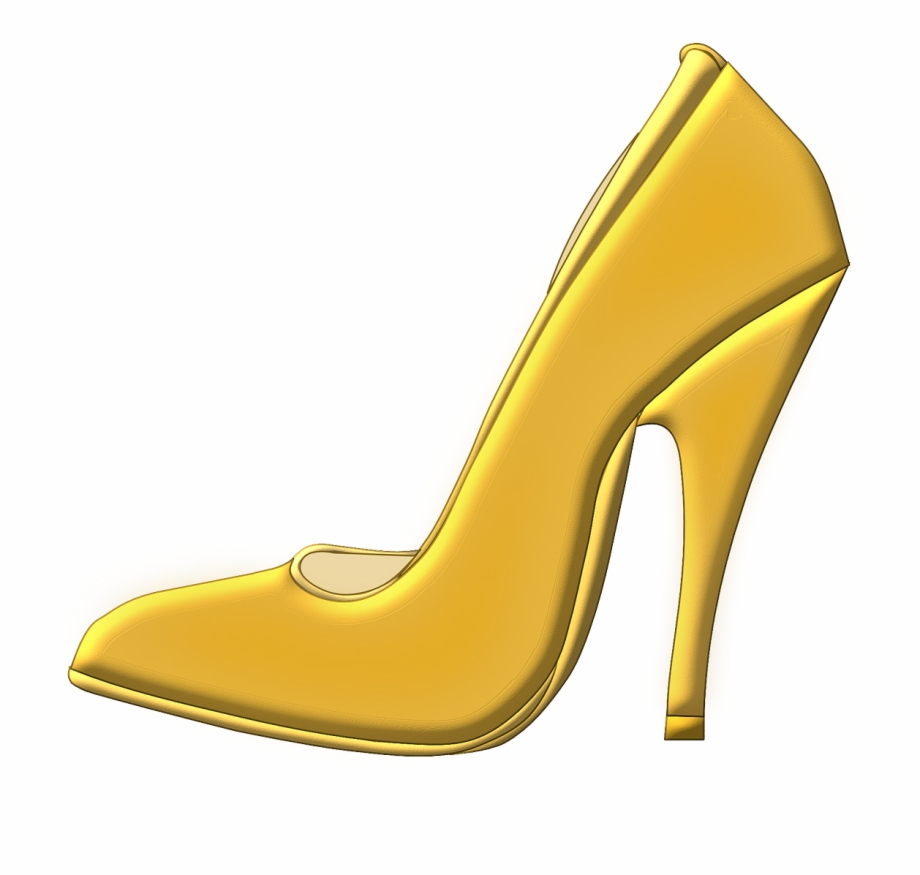Gold heels clipart clipart library Shoe High Heeled Shoe Png Image - Gold Heel Clipart - high heel shoe ... clipart library
