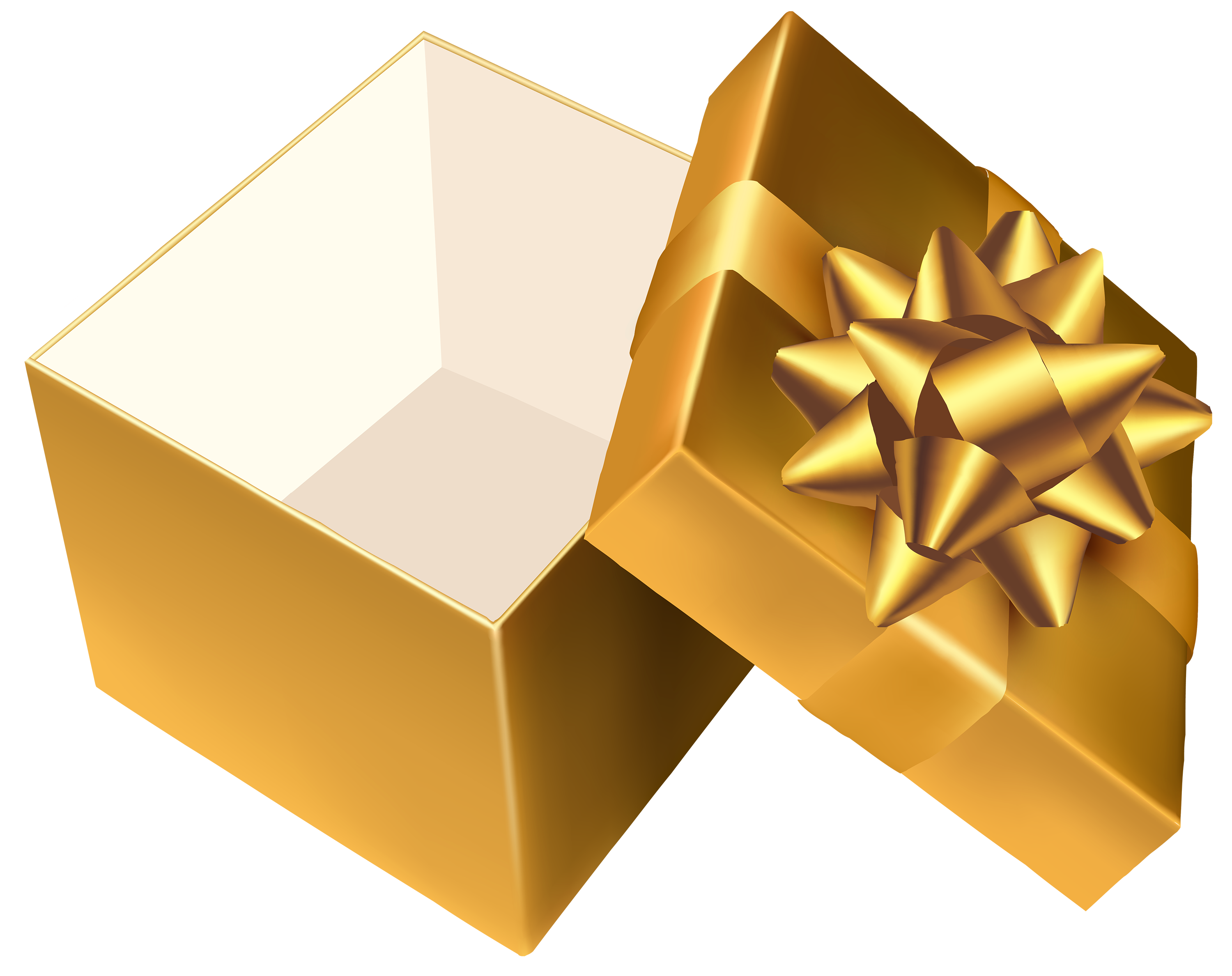 Gold house clipart graphic free stock Gold Open Gift PNG Clipart - Best WEB Clipart graphic free stock