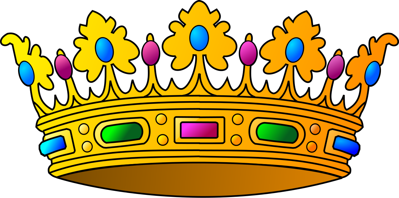 Gold keep calm and carry on crown clipart clipart black and white library  clipart black and white library