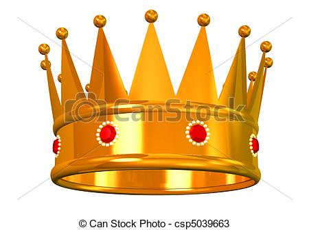 Gold king crown clip art jpg download Drawings of Golden crown - King's golden crown isolated on white ... jpg download
