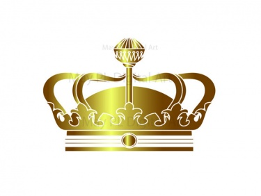 Gold king crown clip art picture library library Gold Crown Clipart - Clipart Kid picture library library