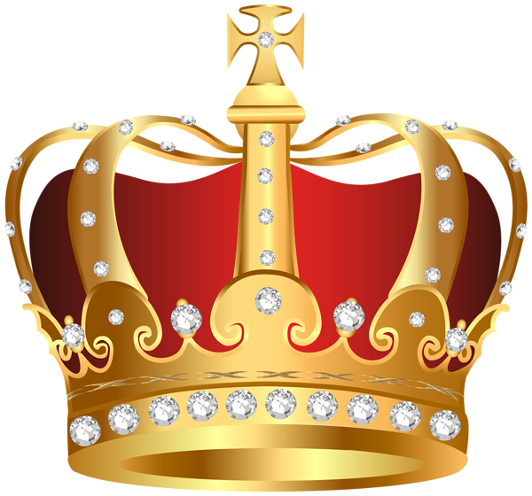 Red crown clipart transparent graphic black and white stock King Crown Transparent PNG Clip Art Image | Pageant | Pinterest ... graphic black and white stock